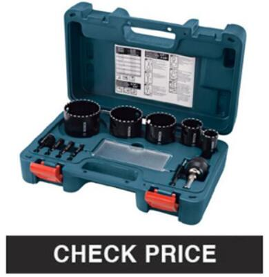 Bosch HB25M 25-Piece Metal hole saw kit
