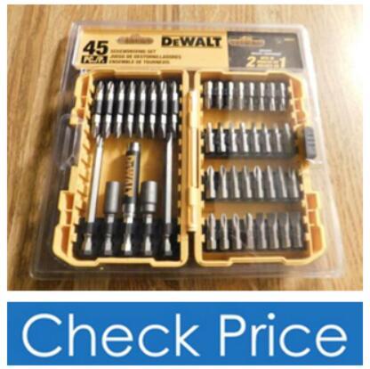 DEWALT DW2166 Screwdriving Set with Tough Case
