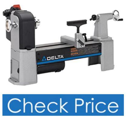 Delta Industrial 46-460 Tabletop Wood Lathe Machine
