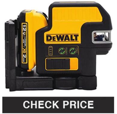 Dewalt DW089LG 12V Best Rotary Laser Level
