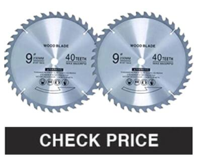 """POOLSUPPLY TOWN 2 PACK 8"""" 80-TOOTH BLADE"""