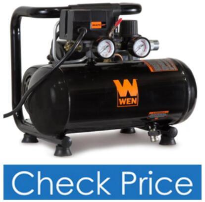 WEN 10-Gallon Oil-Free Vertical Air Compressor