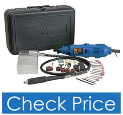 WEN 2305 Rotary Tool Kit w/ Flex Shaft