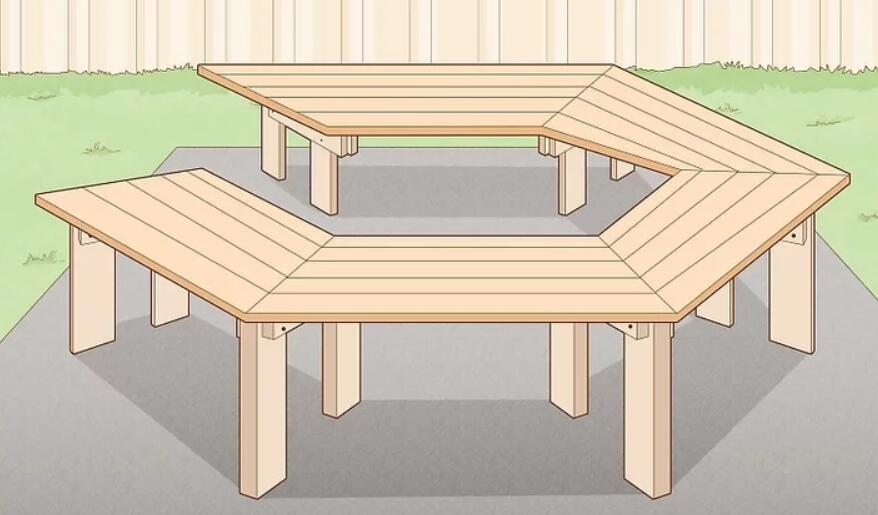 Build a Hexagonal Bench