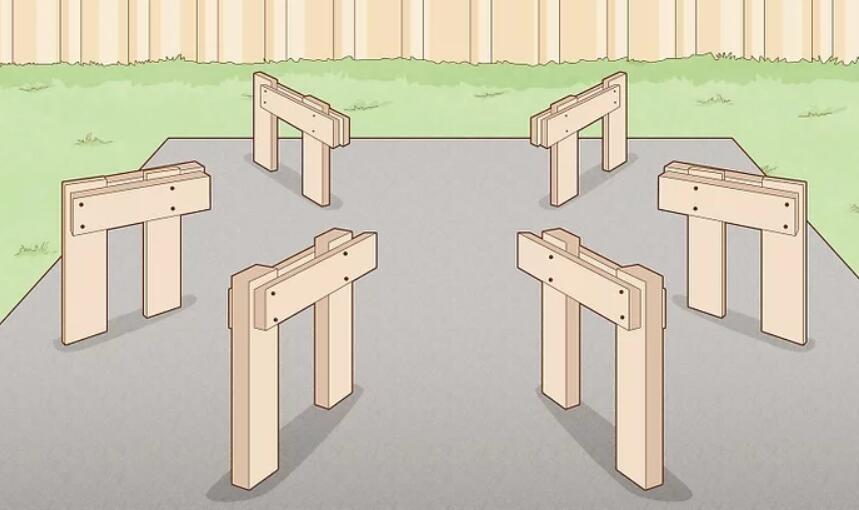 Cut and Assemble the Bench Supports