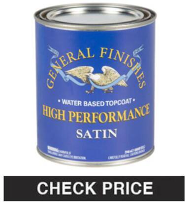 General Finishes Water Based High-Performance Urethane Topcoat