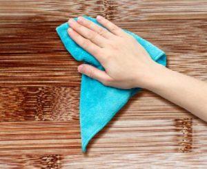 Remove Wood Dust
