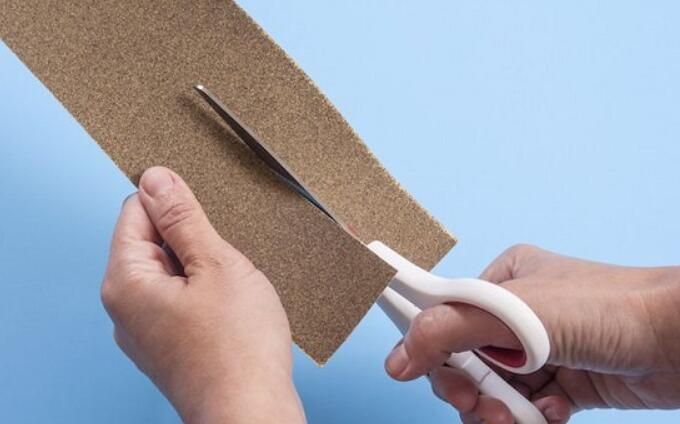 Sharpening Your Scissors With Sandpaper