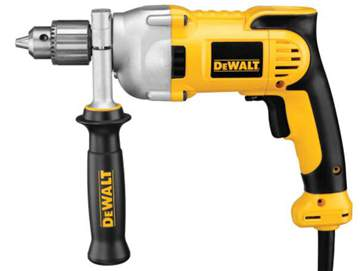 DEWALT Electric Drill, Pistol-Grip, 1/2-Inch, 10-Amp