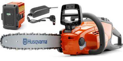 Husqvarna 120i cordless chainsaw