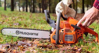 Husqvarna 435e II gas chainsaw