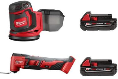 M18 18-Volt Lithium-Ion Cordless Multi-Tool with 2.0 Ah Compact Battery