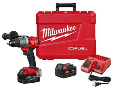 M18 FUEL 18-Volt Lithium-Ion Brushless Cordless 1/2 in. Hammer Drill/Driver