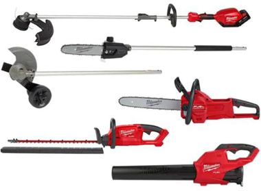 M18 FUEL 18-Volt Lithium-Ion Brushless Cordless QUIK-LOK String Trimmer Combo Kit with Blower and Chainsaw (6-Tool)