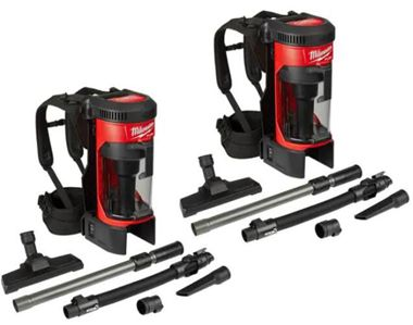 Milwaukee 0885-20 M18 FUEL Brushless Lithium-Ion Cordless 3-in-1 Backpack Vacuum