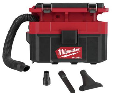 Milwaukee 0970-20 M18 FUEL PACKOUT Lithium-Ion Brushless 2.5 Gallon Cordless Wet/Dry Vacuum