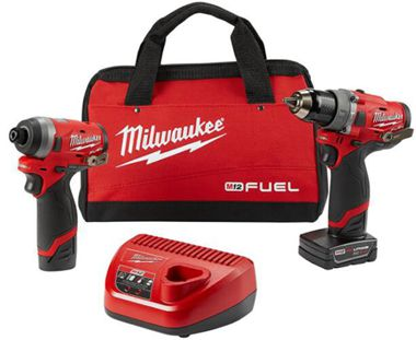 Milwaukee 2691-22 Drill and Impact Driver Combo Kit