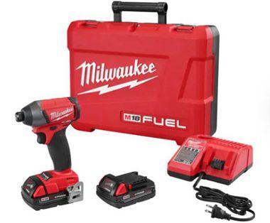 Milwaukee 2753-20 M18 Fuel 1/4 Hex Impact Driver