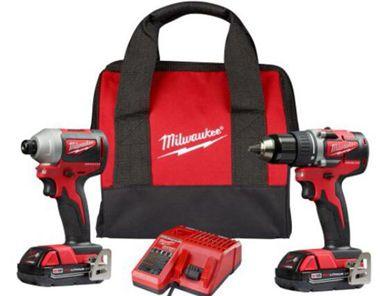 Milwaukee 2801-20 compact drill