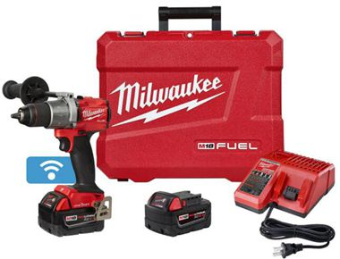 Milwaukee 2806-20 M18 FUEL Lithium-Ion 1/2 in. Cordless Hammer Drill with ONE-KEY