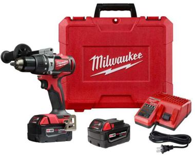 Milwaukee 2902-20 M18 Lithium-Ion Brushless 1/2 in. Cordless Hammer Drill