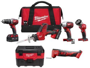 Milwaukee M18 Cordless LITHIUM-ION 4-Tool Combo Kit
