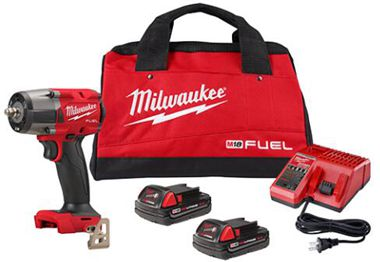 Milwaukee M18 Fuel 3/8-Inch Mid-Torque Impact Wrench
